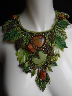 From The Heart Of The Forest OOAK Bead by SharonEdelmanforEPEC, $4500.00