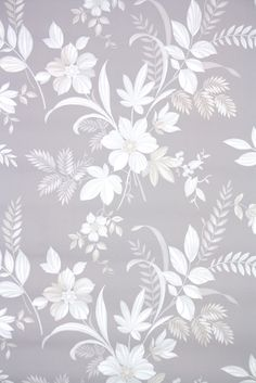 Draw Flower Patterns vintage wallpaper floral botanical gray and white - Honeycomb Wallpaper, Floral Print Wallpaper, Accent Wallpaper, Rose Gold Wallpaper, Flower Wallpaper, Floral Prints, Iphone Wallpaper Grey, Grey Pattern Wallpaper, Vintage Wallpaper Patterns