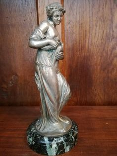 Antique French Figurine Statue BOUCHARDON by TheNeroAntiquesShop
