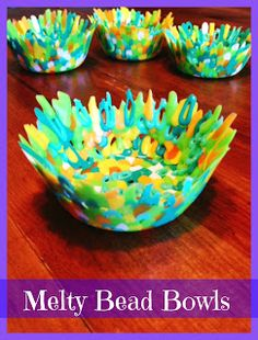 Its A Hodgepodge Life For Us Blog Post Craft Melty Bead Bowls