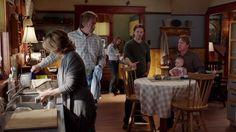 Amy Jack Lily Borden (Megan Follows) Lyndy Tim Ty.