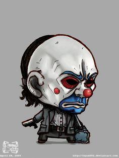 Bank Robber Joker by on DeviantArt Joker Cartoon, Beetlejuice Cartoon, Cartoon Pics, Cartoon Art, Madara Wallpapers, Joker Wallpapers, Dark Art Drawings, Tattoo Design Drawings, Batman Arkham Night