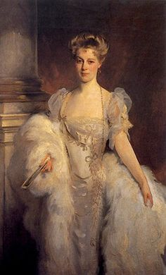 Morgan, painted ca. by Gilded Age American portrait artist John Singer Sargent. Giovanni Boldini, Woman Painting, Painting & Drawing, Sargent Art, Gilded Age, Belle Epoque, Portrait Art, American Artists, Great Artists