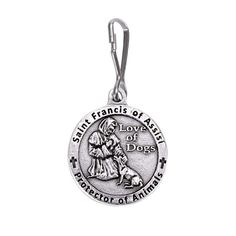St Francis of Assisi Medal Blessing for Dogs -- Check out this great product. (This is an affiliate link)