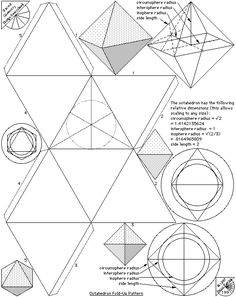 Platonic Solids – Fold Up Patterns | The Geometry Code:Universal Symbolic Mirrors of Natural Laws Within Us