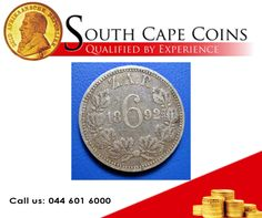 1892 ZAR Sixpence VF Call us for more info: 044 601 6000 or Visit our website: besociable. Coin Grading, Coins For Sale, Rare Coins, Investing, Personalized Items, Website, Link, Conservation