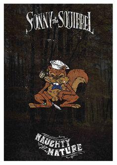 """Sonny the Squirrel _ Danilo """"Sailor Danny"""" Mancini"""