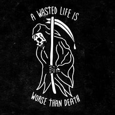 Grim reaper I've wasted my whole entire life so come and get me please. Tattoo Drawings, Art Drawings, Skeleton Art, Neue Tattoos, Future Tattoos, Skull Art, Dark Art, Tattoo Inspiration, Cool Tattoos