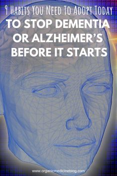 9 Habits You Need To Adopt Today To Stop Dementia or Alzheimer's Before It Starts. Holistic Health Tips for Beginners, Holistic Wellness Natural Cough Remedies, Natural Health Remedies, Natural Cures, Holistic Remedies, Natural Healing, Herbal Remedies, Brain Health, Mental Health, Health Care