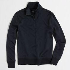 J.Crew Factory - Factory mountain fleece half-zip pullover