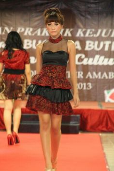 #batikmodif #dress #simple
