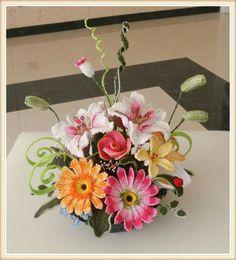 Video Tutorial - Fiori all'Uncinetto - Crochet Flowers