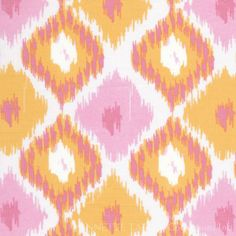 Ikat - love the color combo!  Annette Tatum orig.