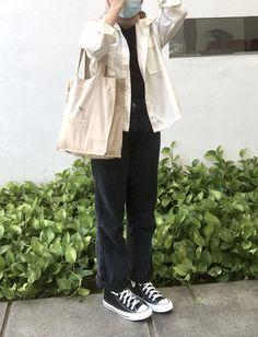 Kpop Fashion Outfits, Korean Outfits, Mode Outfits, Korean Fashion Trends, Korean Street Fashion, Cute Casual Outfits, Stylish Outfits, Hijab Fashion Inspiration, Muslim Fashion