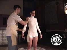 Lifecasting Tutorial: Dress Form Cast In Flexible Foam - YouTube