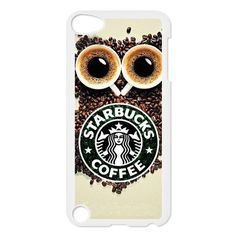 CTSLR Custom Starbucks Logo Protective Hard Case Cover Skin for iPod Touch 5 5G 5th Generation