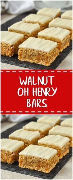 Walnut Oh Henry Bars – Fresh Family Recipes