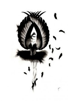 black swan to be tattoo