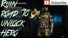 Black Ops 3  -- Ruin  Road To Unlock Hero