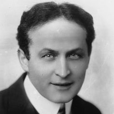 Harry Houdini, the great magician and escape artist. 1874 - 1926