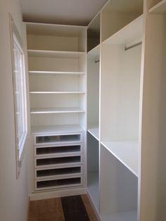 Cajonera con separadores interiores y como tapa usamos una - Cajonera interior armario ...