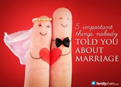 You probably asked for whatever advice you could find when you got married. Here are 5 important things from a marriage counselor that nobody told you when you got married.