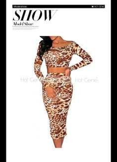Aliexpress.com : Buy Leopard Print 2 Piece Bandage Midi Dress Women Autumn Party Costume Long Sleeve Winter Suit Ladies Bodycon Clothing 2015 New from Reliable skirt design suppliers on Hot Genie Authentic Brand Shop | Alibaba Group