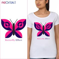 Women Round Neck Printed Short Sleeves T-shirt.  BUY HERE www.fabcasuals.com #onlineshopping #India #shopnow #women #tshirts