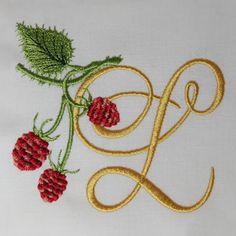 Wild Raspberries Alphabet- L