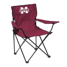 Mississippi State Bulldogs Quad Chair - Logo Chair