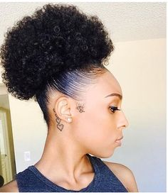 [New] The 10 Best Hairstyle Ideas Today (with Pictures) - Available Natural Hair Bun Styles, Natural Hair Tips, Natural Hair Journey, Curly Hair Styles, Natural Protective Hairstyles, Natural Beauty, Black Girls Hairstyles, Afro Hairstyles, Hairdos
