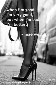 Mae West.. what a great dame she was