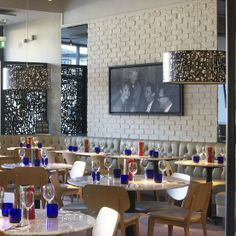 Brick Slip wall and Banquette Seating PizzaExpress West Wickham www.creeddesign.co.uk