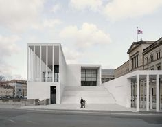 World Architecture Community News - David Chipperfield Architects opens James-Simon Galerie on Berlin's Museum Island Bode Museum, New Museum, Contemporary Museum, Contemporary Architecture, Museum Architecture, Library Architecture, Architecture Sketchbook, Architecture Graphics, Victorian Architecture