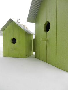 Bird houses σε πρώτο πλάνο   lovelyhome.gr Diy Projects, Garden, Animals, Garten, Animales, Animaux, Lawn And Garden, Gardens, Animal