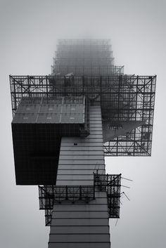 telemax telecommunication tower ~ hans u. boeckler