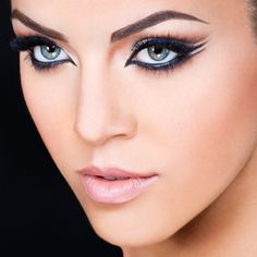 I love this double winged liner look!!!!:  Eyelash Extensions Eyeliner | GlideLiner™ Ready-to-Wear Collection by Xtreme Lashes®