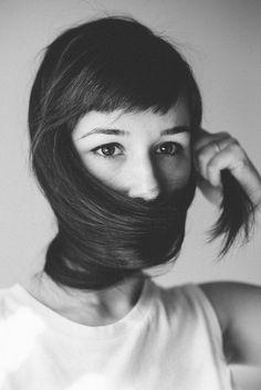Conceptual black and white self-portrait by photographer Jessi Livak // JESSI LIVAK PHOTOGRAPHY // www.jessilivak.com