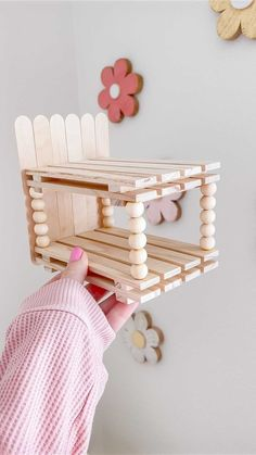 ashleealaine on Instagram: ✨ DIY dollhouse bunk beds ✨ You guys loved the beds I made from mini pallets I grabbed from @dollartree so I knew I needed to show exactly… Diy Dollhouse, Pallets, Bunk Beds, Guys, Love, Create, Mini, Instagram, Amor