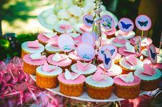 Butterflies cupcakes!