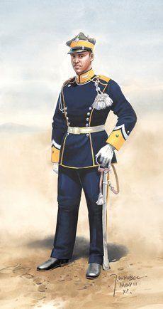 Podporucznik 3 Pułku Ułanów Wielkopolskich - malował Jarosław Wróbel.