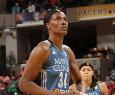 INDIANAPOLIS, IN - OCTOBER 11:  Sylvia Fowles #34 of the Minnesota Lynx shoots a free throw against the Indiana Fever during Game Four of the 2015 WNBA Finals on October 11, 2015 at Bankers Life Fieldhouse in Indianapolis, Indiana. NOTE TO USER: User expressly acknowledges and agrees that, by downloading and or using this Photograph, user is consenting to the terms and conditions of the Getty Images License Agreement. Mandatory Copyright Notice: Copyright 2015 NBAE (Photo by Ron…