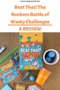 Beat That! is a jam-packed game full of 160 bonkers challenges aimed at families and friends aged 11 and up. It is the perfect game for parties. Family Party Games, Group Games, Crazy Games, Battle Games, More Games, Perfect Game, First Game, Best Blogs, Get Excited