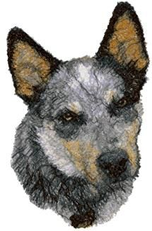 Advanced Embroidery Designs. Animals >> Dog Breeds Embroidery Designs.
