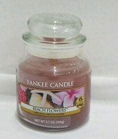 YANKEE CANDLE SCENTERPIECE FLORAL CANDY EASY MELT CUP NEW SPRING 2019 HTF