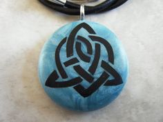 Celtic Symbol For Sisterhood hand carved on a by RiInnovations, $20.00