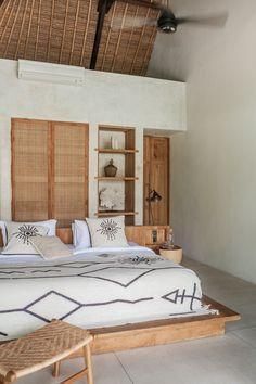 Bali Bedroom, Wood Bedroom, Bedroom Decor, Bali Style Home, Room Inspiration, Furniture Design, Bali Furniture, Interior Design, Foot Stools
