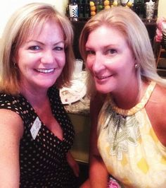 Laurie Francey (Office Manager / Director of Operations) and Kim Blakeney (Agent / Office Manager) at a networking event.