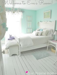DIY:: #Forty Dollar Shabby Chic Room Makeover (BEAUTIFUL! detailed tips, so many repurpose ideas, and tutorials)