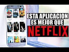 Esta Aplicación es el HERMANO de NETFLIX!! - YouTube Netflix Free, Game App, Smart Tv, Make A Wish, Fun Facts, Internet, Videos, Youtube, Tips